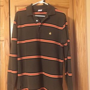 Men's long sleeve Brooks Brothers polo
